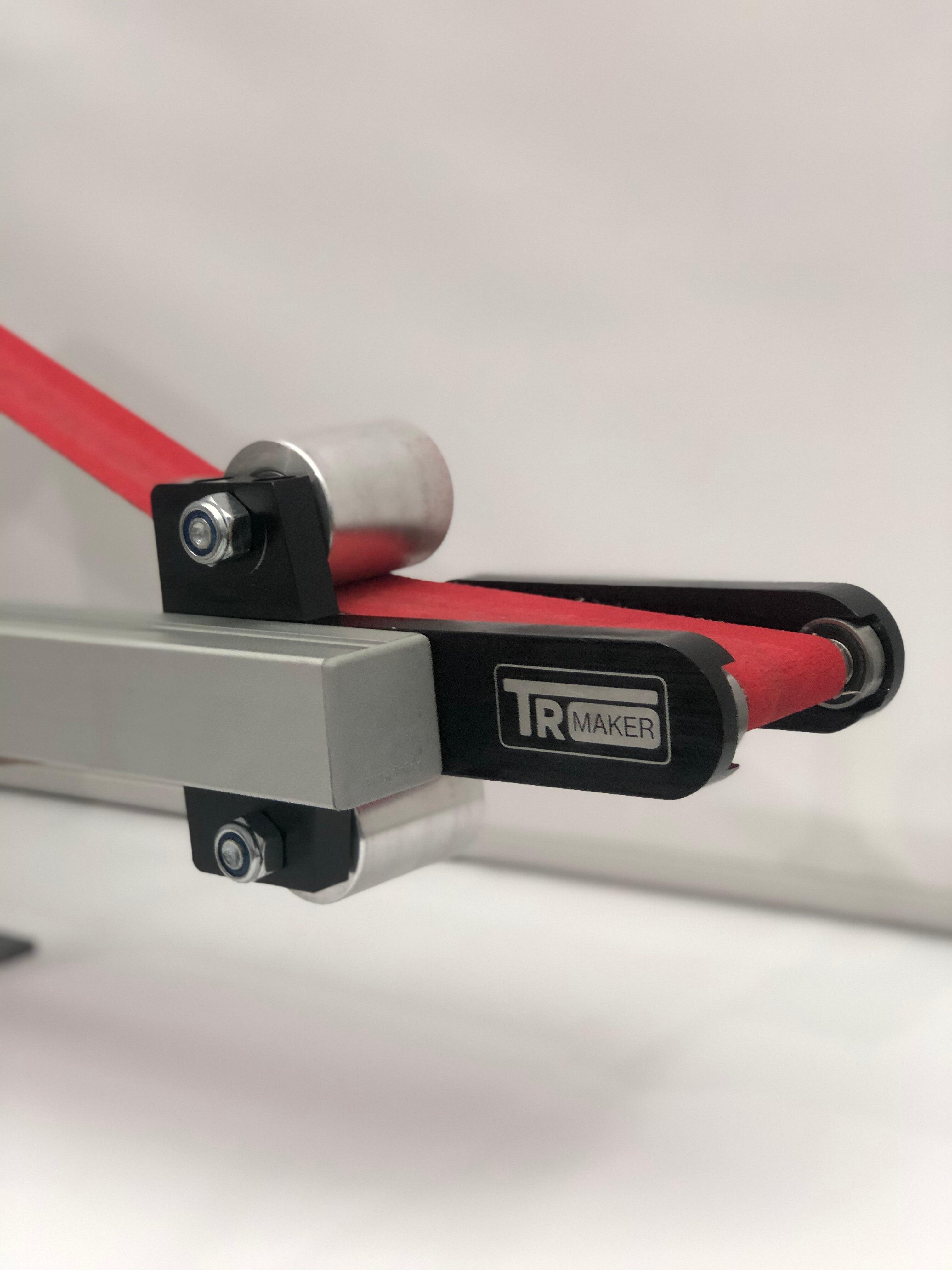 TR Maker Belt Grinder 2x72 Small Wheel Set & Holder For Knife Grinders 2x Big Wheel