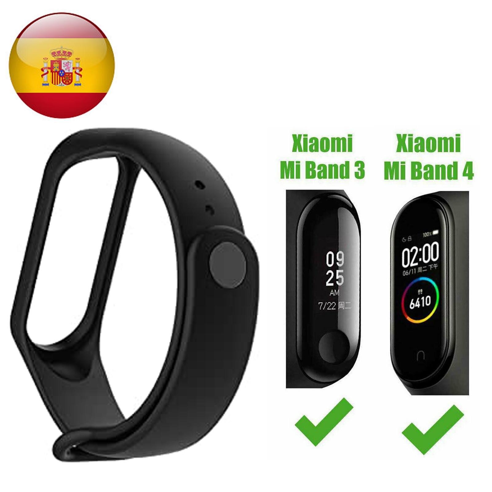 Смарт-часы Xiaomi Mi band, черный браслет для активного отдыха, для Xiaomi Mi Band 4 3