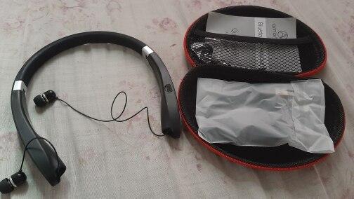 Amorno Neckband Earphones Wireless Fone Bluetooth Headphones with Mic Handsfree TWS Earbuds Noise Canceling Headphone Headset|Phone Earphones & Headphones| |  - AliExpress