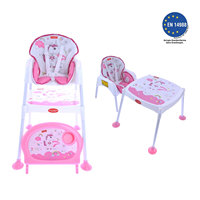 Pocket & Mama Pink Uni Feeding Chair