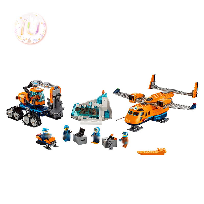 BELA 10996 City Series Arctic Supply Plane Building Blocks Compatible 60196 Birthday Gifts Educational Toys For Children 731pcs