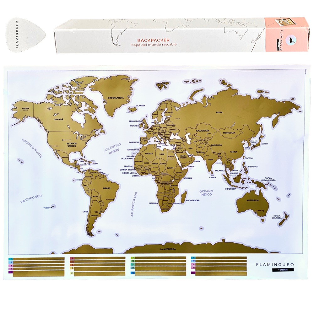 Flamingueo Scratching Map Mundi With Pua Personalized Vintage Poster Map Mundo's Big Map Mundi Mundi Map Wall Scratch Off