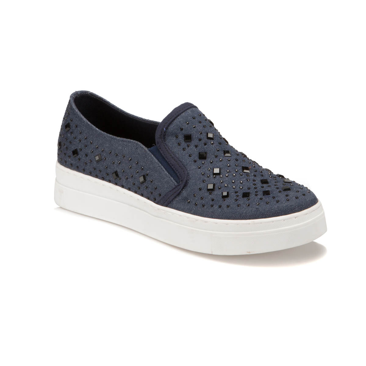 FLO S752 Navy Blue Women 'S Slip On Shoes BUTIGO