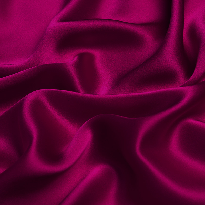 45 Wide 100/% Silk Charmeuse Pink By the Yard 1000M114