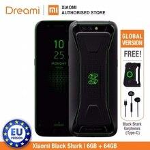 Global Version Xiaomi Black Shark 64GB ROM 6GB RAM Gaming phone (Official Rom) Blackshark Smartphone Mobile