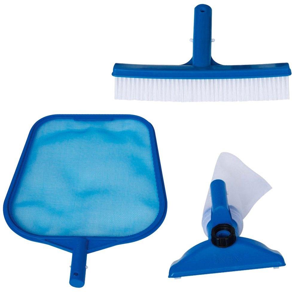 POOL CLEANING KIT, SKIMMER / VACUUM HEAD, INTEX STANDARD FOR 58958, 29056