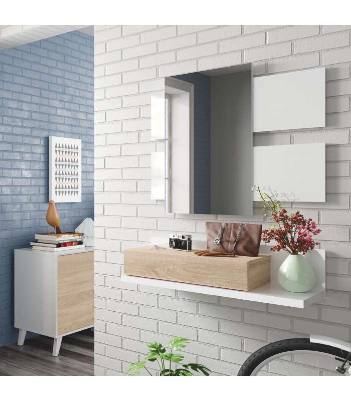 Hallway with drawer + Mirror Modern|  - title=