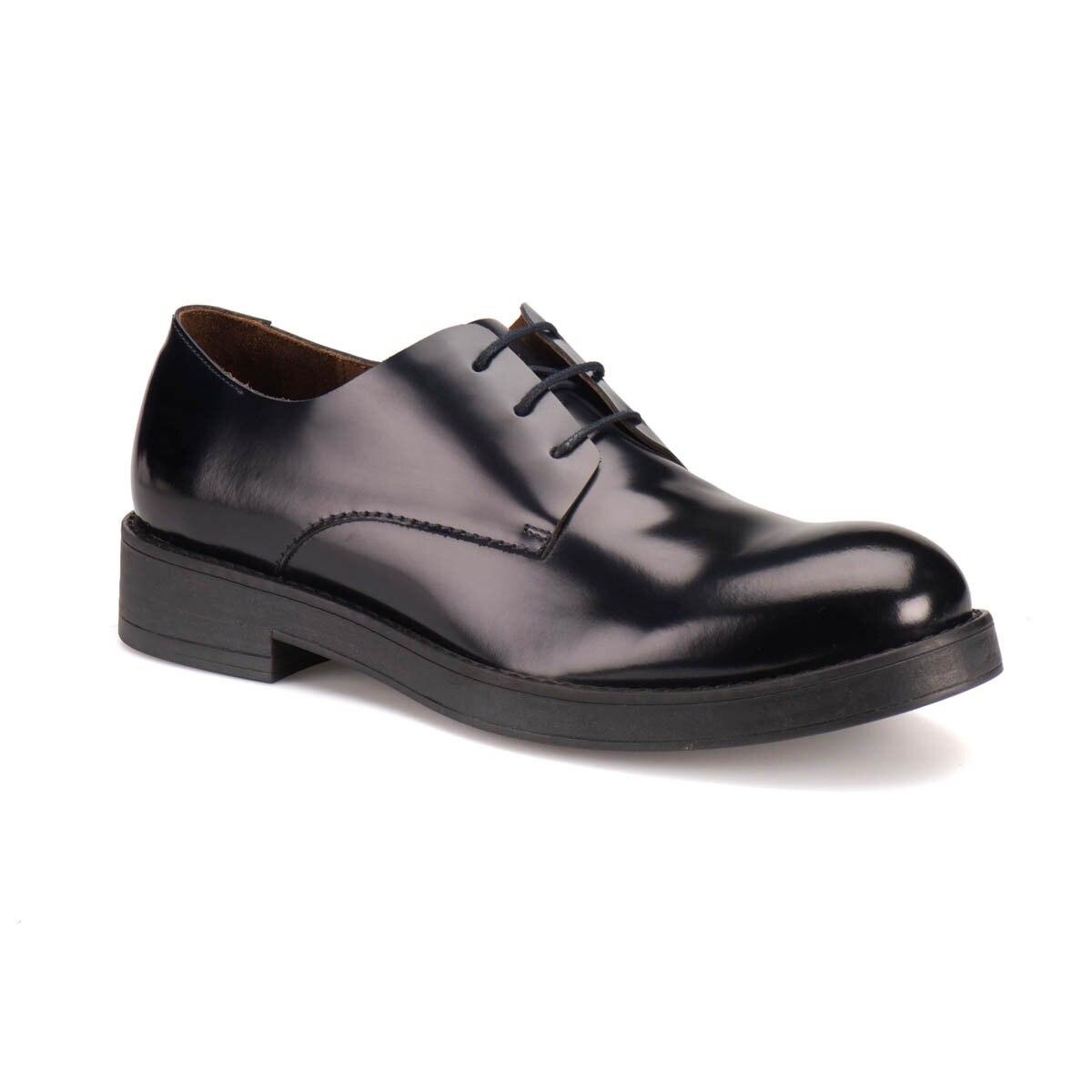 FLO 61370 M 1366 Navy Blue Men 'S Classic Shoes Cordovan