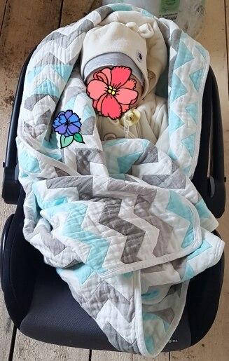 Cobertores e mantas Cobertor Espessas Musselina