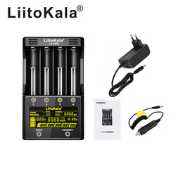 LiitoKala Lii-PD4 Lii-S6 Lii-500S battery Charger for 18650 26650 21700 18350 AA AAA 3.7V/3.2V/1.2V/1.5V lithium NiMH battery