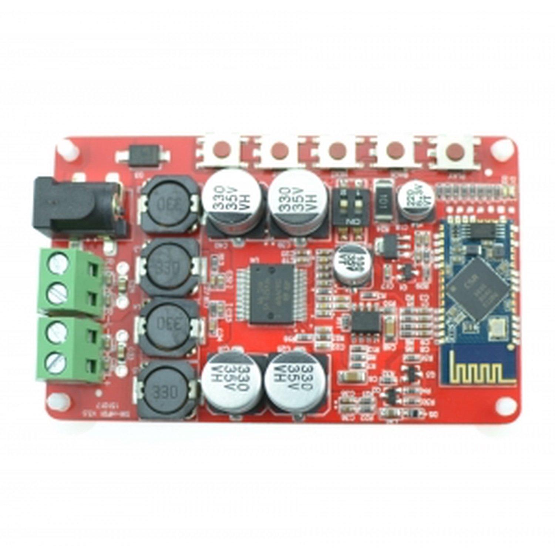 TDA7492P Wireless Digital Bluetooth 4.0 Audio Receiver Amplifier Board 50W + 50W 3 5 wireless for car music audio bluetooth receiver adapter