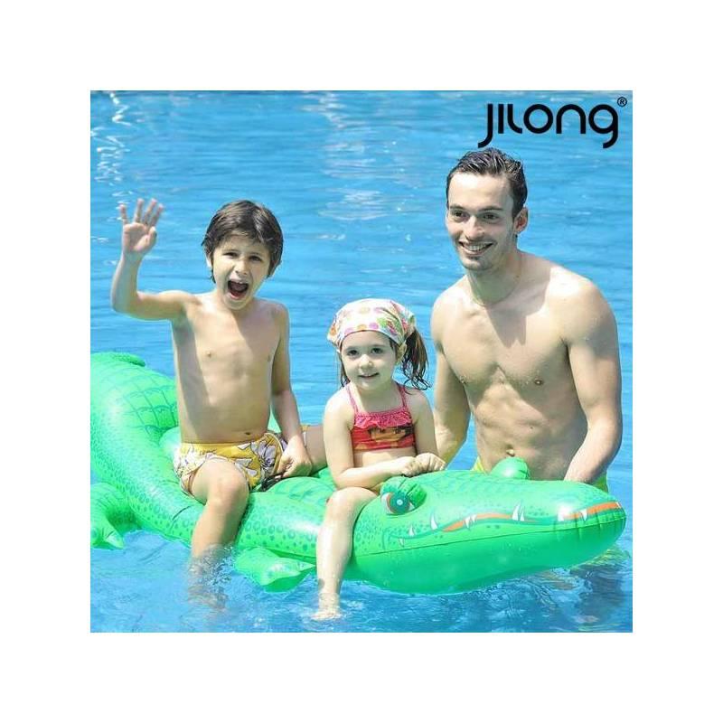 Inflatable Mattress Jilong 611459 (200x110 Cm) Crocodile