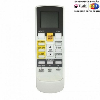 Remote control for Fujitsu AR-RAH1E air conditioning new replacement for fujitsu ar pv1 universal ac a c air conditioner remote control ar dj5 ar je5 ar pv1 ar pv2 ar pv4 ar je7