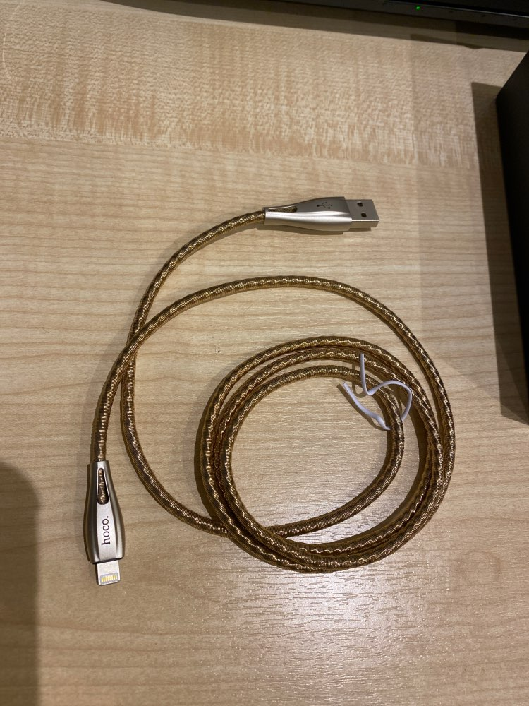 HOCO USB cable for iphone cabe 11 Pro 8 X Xs Max XR ipad mini 2.4A spring braid fast charging cables phone charger Wire Data Syn|Mobile Phone Cables|   - AliExpress