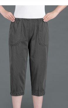 ZOUDKY Women Capris Pants Female Summer m002 2020 Women's High Waist Pants PIL05569