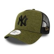 Gorra niño New Era Shadow Tech KTD 9Forty Trucker Cap New York Yankees oliva/negro