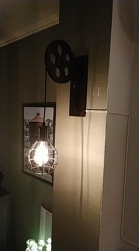 -- Lâmpada Parede Levantamento