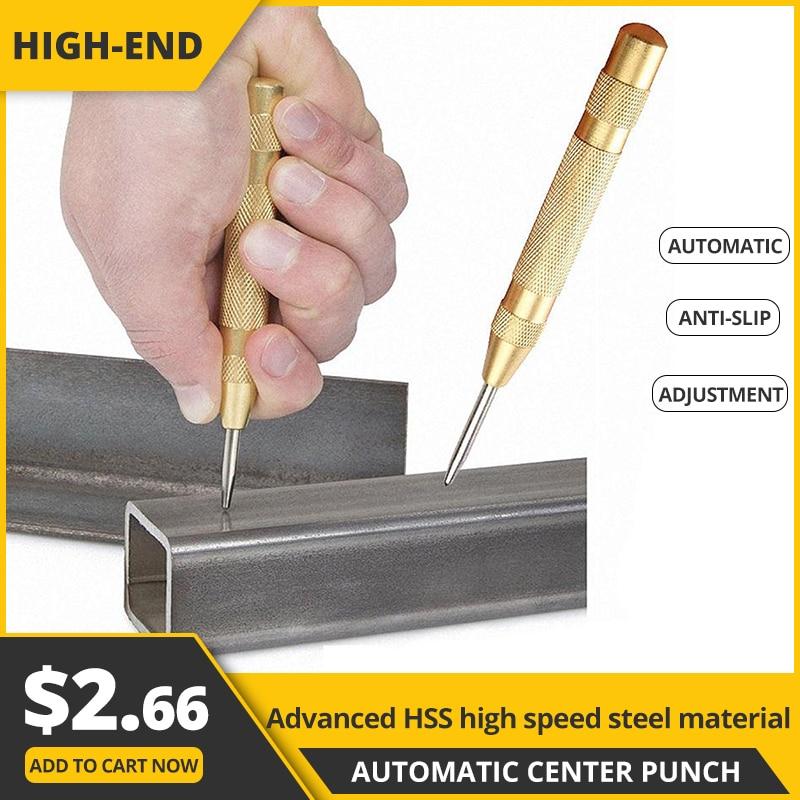 5 automatic drills perfuração automática brocas de metal ferramentas elétricas centro perfurador broca núcleo centro automático perfurador ferramentas para trabalhar madeira marcador|Brocas|   -
