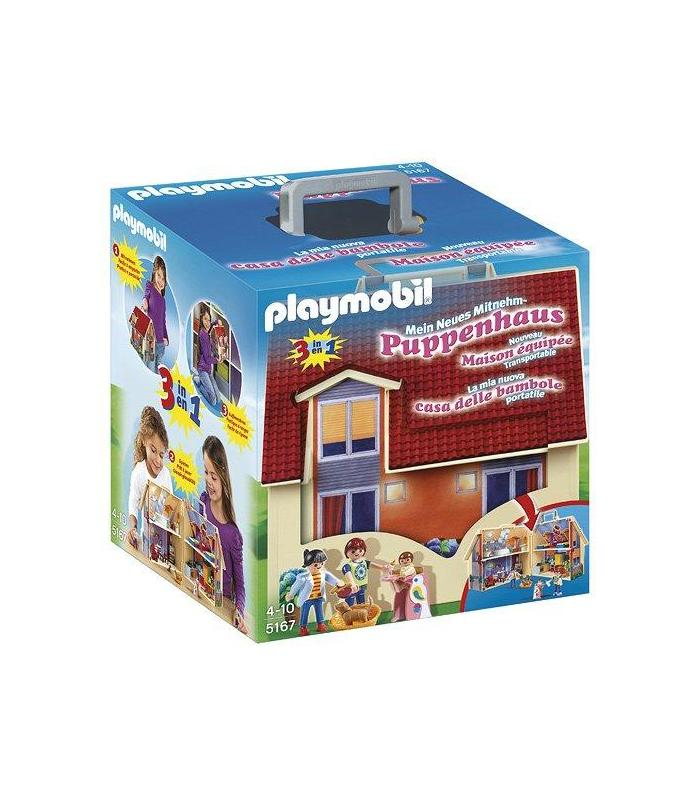 Playmobil 5167 Dollhouse Suitcase Toy Store Articles Created Handbook