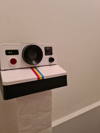Creative Camera Toilet Paper Holder photo review