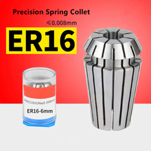 1 pcs ER16-1/2/3/4/5/6/7/8/9/10mm Accuracy 0.008mm Spring Collet Chuck for CNC Milling Tool Engraving Machine Lathe ls valve spring compressor tool fit for chevy lsx 4 8 5 3 5 7 6 0 6 2 ls1 ls2 ls3