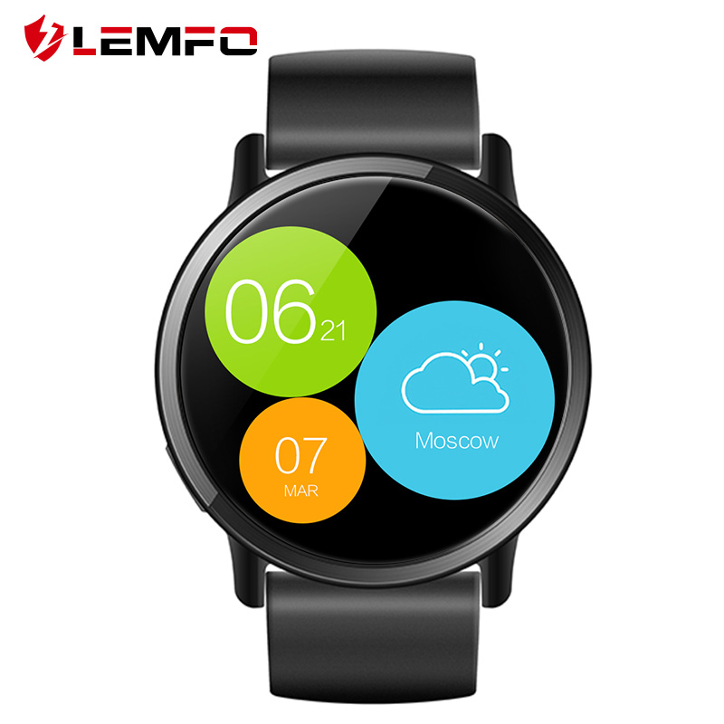 Smart watch LEMFO LEM X support Russian language. Official warranty 1 year, Shipping from 2 days. new original ni40 g47sr vp4x warranty for two year