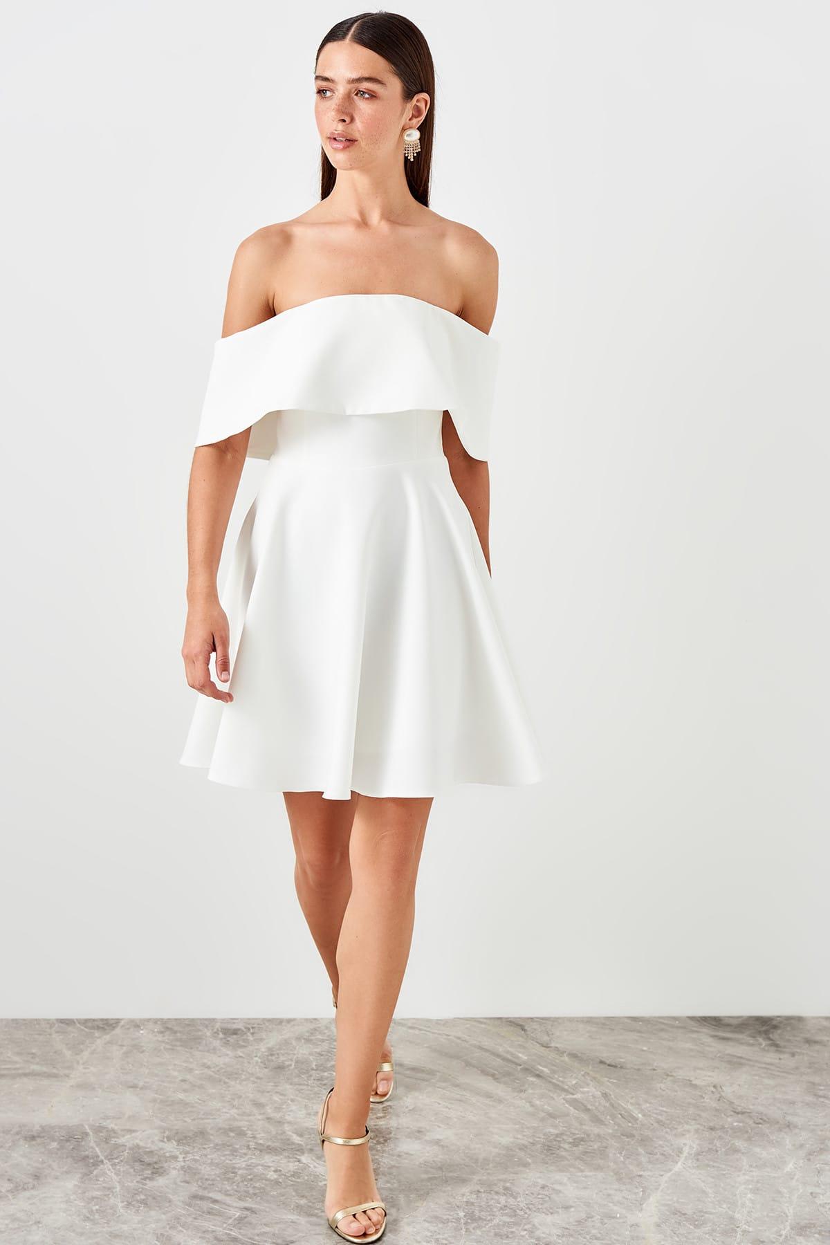 Trendyol Shoulder Detail Dress TPRSS19BB0508
