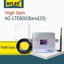 Band20 lte 800 МГц подключается к сети 4g усилитель сигнала