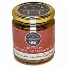 Almadraba bluefin tuna Ventresca jar with Extra virgin olive oil organic 250 grams | Almadraba artisans
