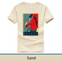 Модная футболка boja horsen Мужская из 100% хлопка с коротким