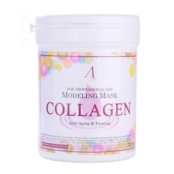 Anskin Original - Collagen - Маска альгинатная с коллагеном, укрепляющая (банка) 240г (700мл)