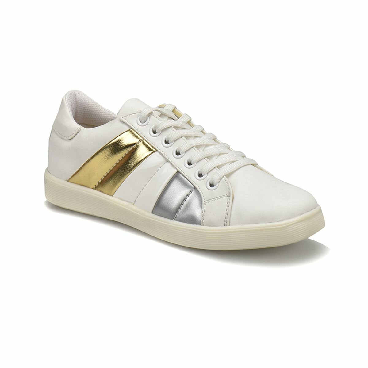 FLO CS18046 White Women 'S Sneaker Shoes Art Bella