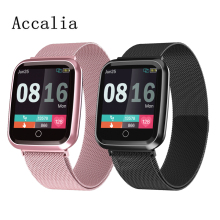 Accalia N99 IP68 Waterproof 24-hour heart rate blood pressure monitor Couple smart bracelet man woman