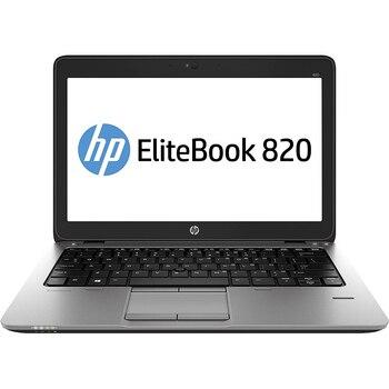 "Portable HP EliteBook 820 G1 12.5 ""Intel Quad core i5-4300 2.0 GHz 8GB RAM 240 GB SSD Webcam windows 10 Pro 64 bit license"