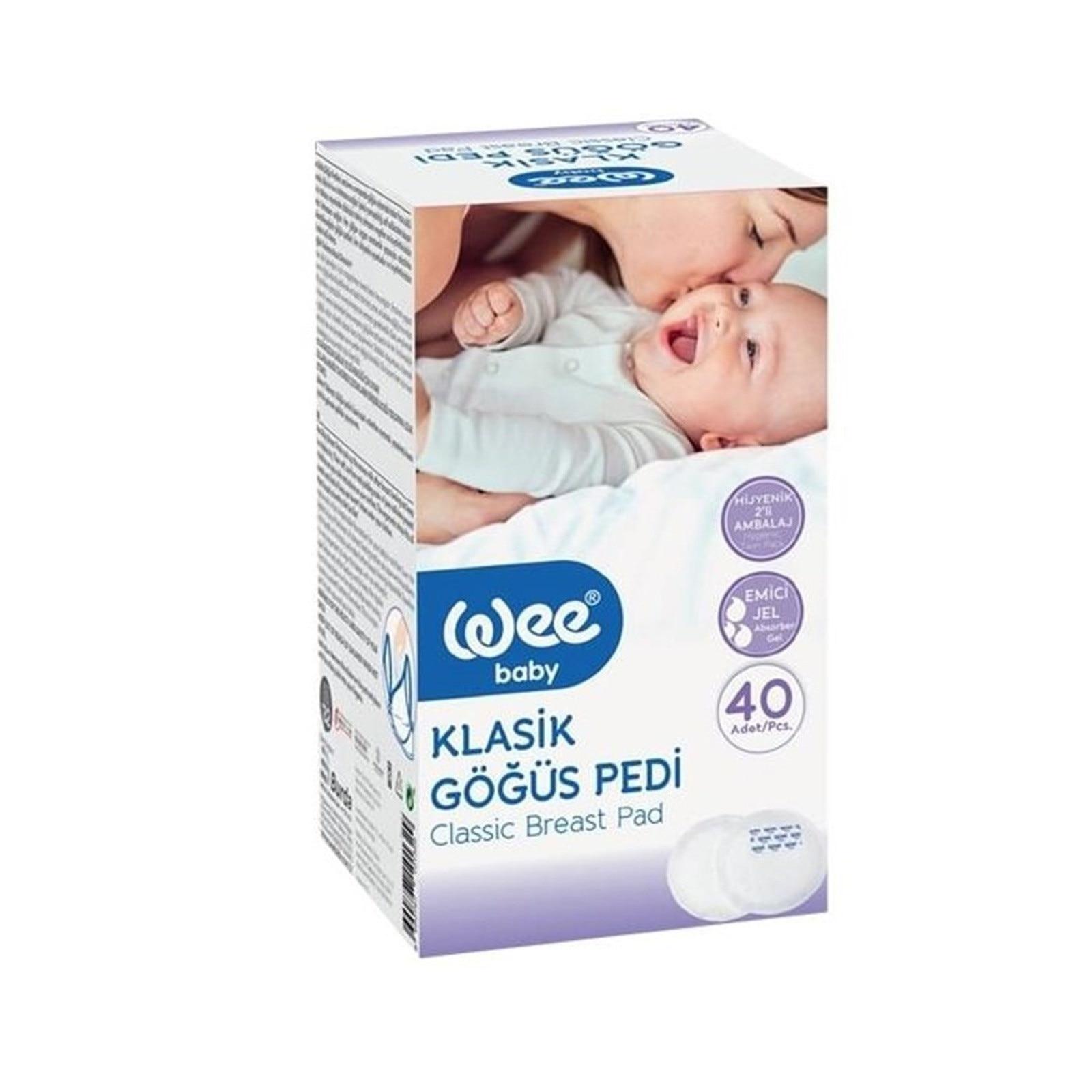 Ebebek Wee Baby Classic Breast Pad 40 Pcs