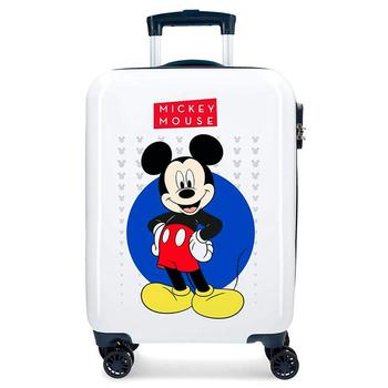 Cabin suitcase rigida M Mouse with 4 wheels 55x36x20cm. 40l. Free Shiping log cabin suitcase man spider dimensions 55x38x20cm free shipping