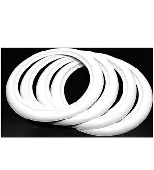 ATLAS 15 INCH WHITE WALL PORTAWALL TYRE TRIMS RUBBER RING X4