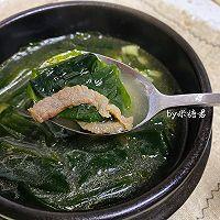 冬季暖胃:韩式海带汤的做法图解10