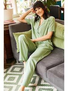 Ola Women 'S Viscose Sleepwear Set TKM-19000056