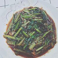 豆豉油麦菜的做法图解7