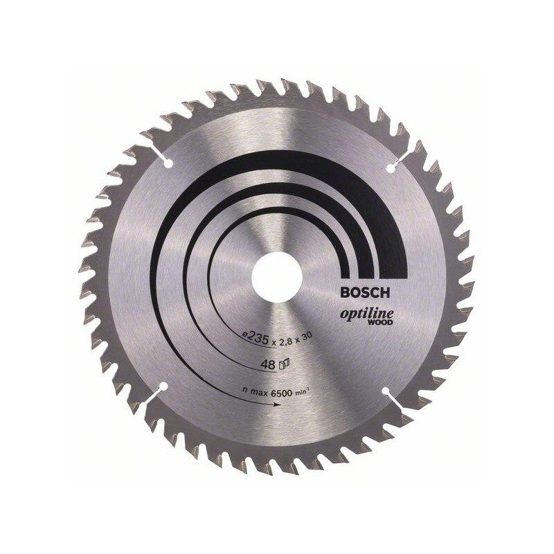 BOSCH-circular Saw Blade Optiline Wood 235x30/25x2,8mm 48