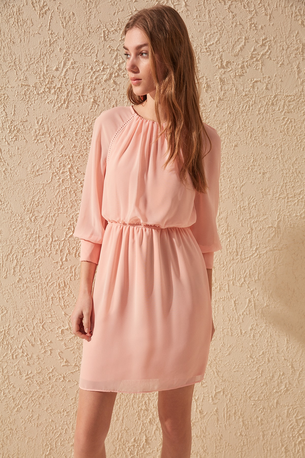 Trendyol Cuff Detail Dress TWOSS20EL1405