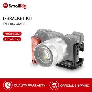 Image 1 - SmallRig A6500 L Chân Đế Lồng Bộ Cho Sony Alpha A6500 Đĩa + Arca Đế L Đĩa Bằng Gỗ kẹp Tay 2074