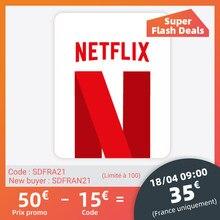 Netflix E Carte gift