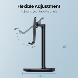 Image 3 - Ugreen Mobile Phone Holder Stand For iPhone X 8 7 6 Plus Desk Tablet Cell Phone Holder Stand Accessories For Xiaomi Phone Holder