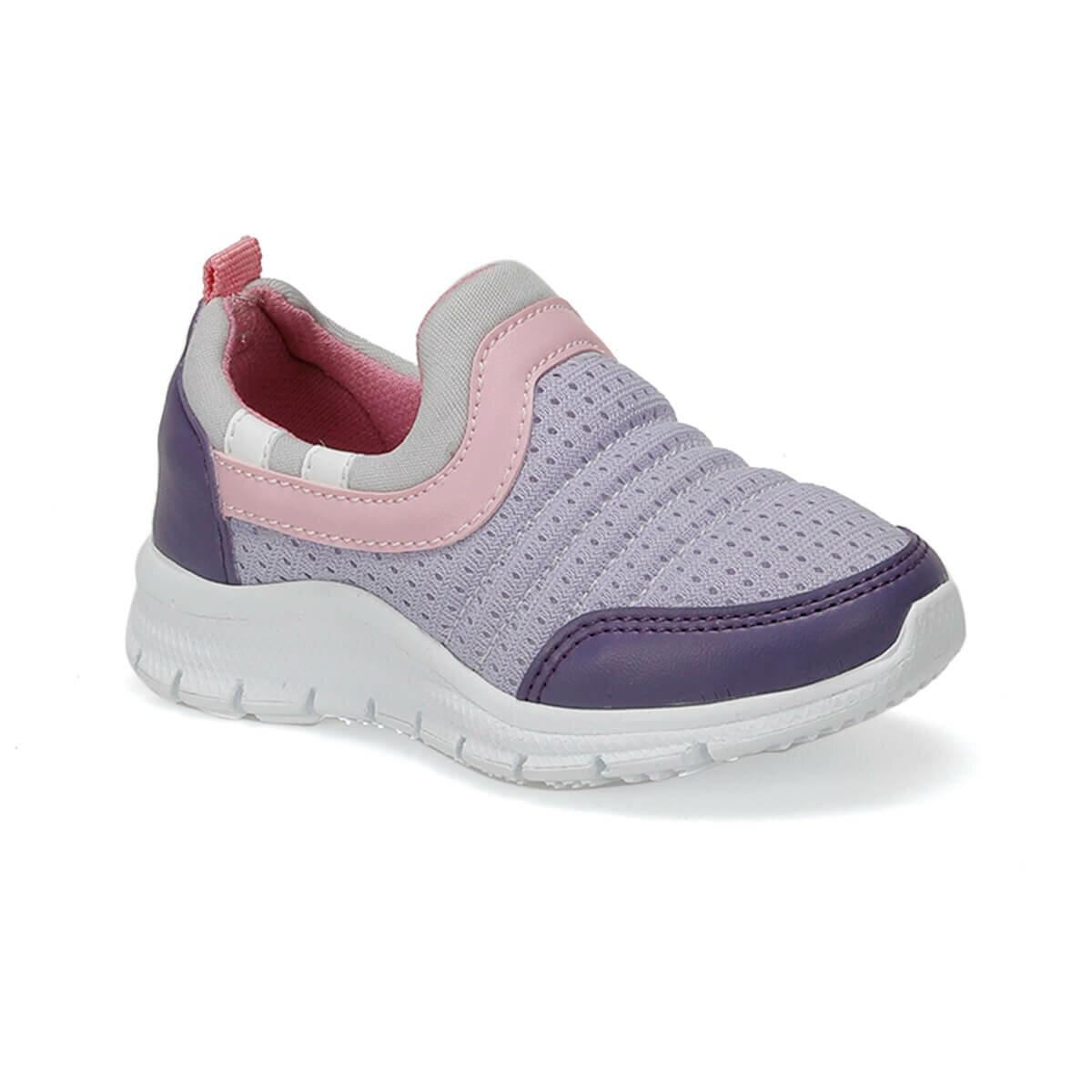 FLO CIRCLE Purple Female Child Walking Shoes I-Cool