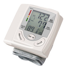 Medical Digital Wrist Blood Pressure Monitor Automatic Tonometr BP Measurement Presion Arterial Tensiometro Sphygmomanometer