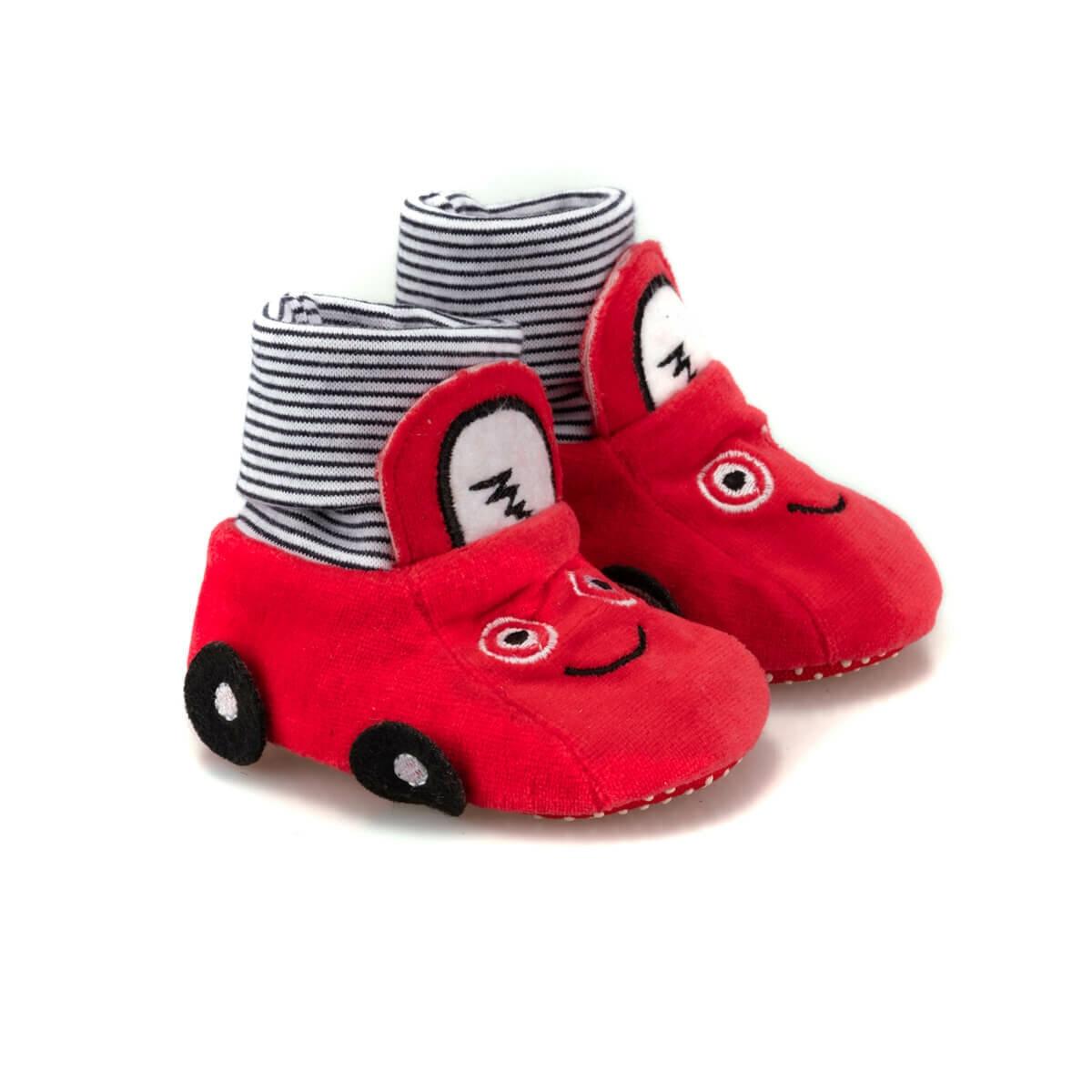FLO 92.512037.Y Red Male Child Home Shoe Polaris
