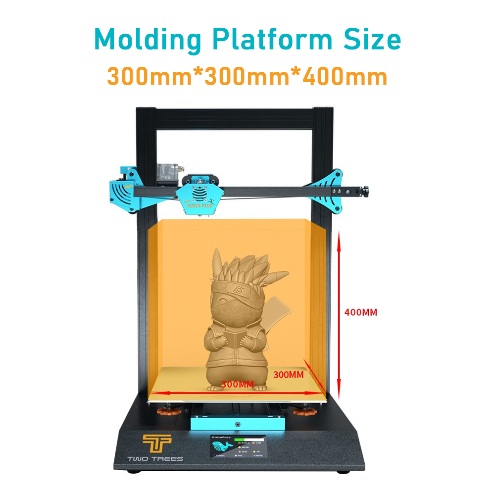 TWO TREES BLUER PLUS I3 Mega Metal 3D Printer WIth Touch Screen 1