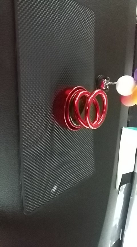 Double Ring Car Air Freshener (Manual Rotation) photo review